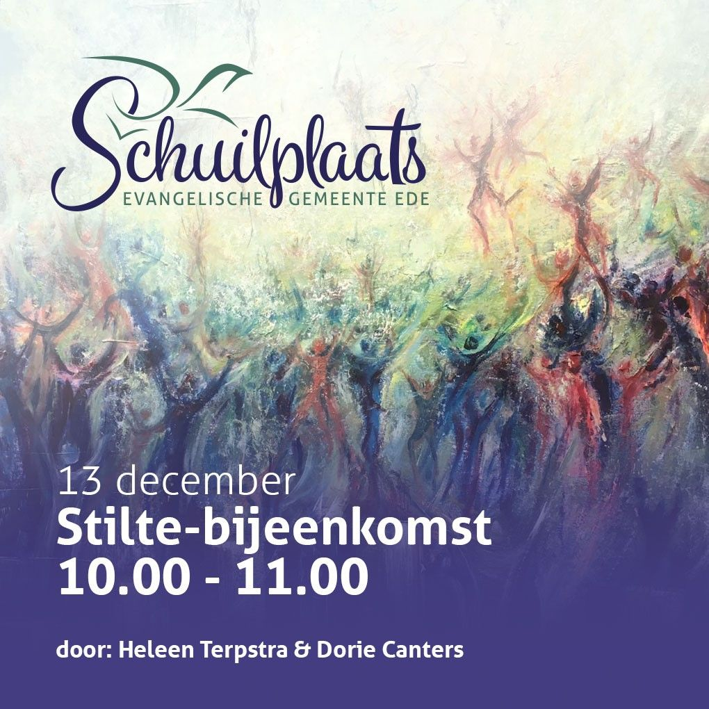 Stilte bijeenkomst - 13 december