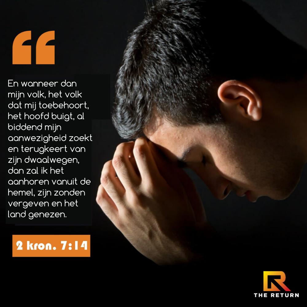 18 t/m 27 september: 'De Terugkeer' - 10 dagen bidden in De Schuilplaats Ede