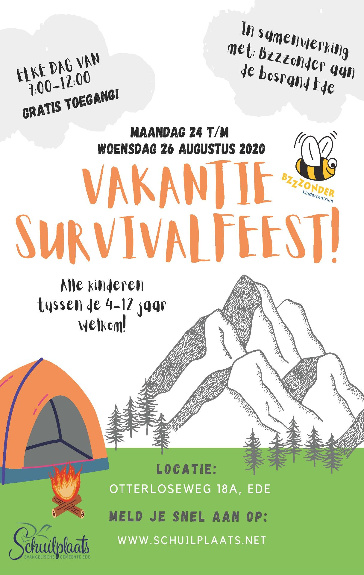 Vakantie Survival Feest
